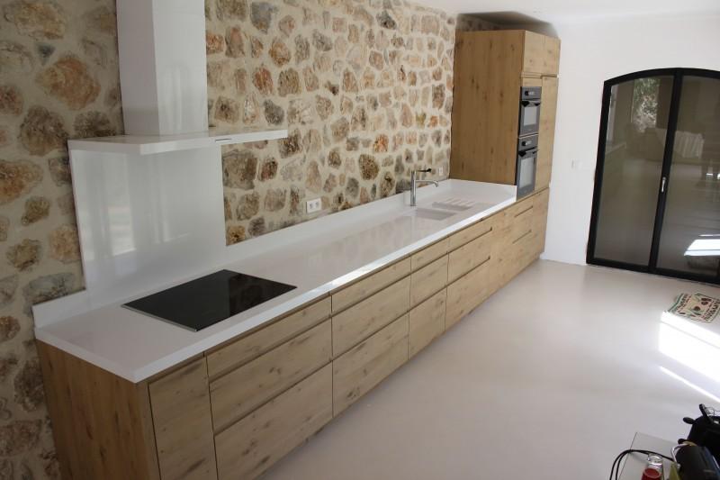 Quartz cuisine plan de travail sofag for Peindre salle de bain sans fenetre