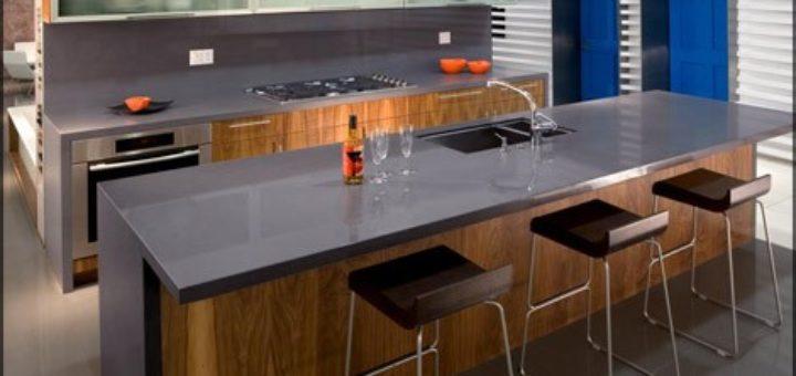 awesome cuisine quartz gris gallery design trends 2017