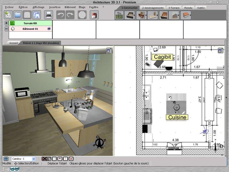 logiciel architecture sofag. Black Bedroom Furniture Sets. Home Design Ideas