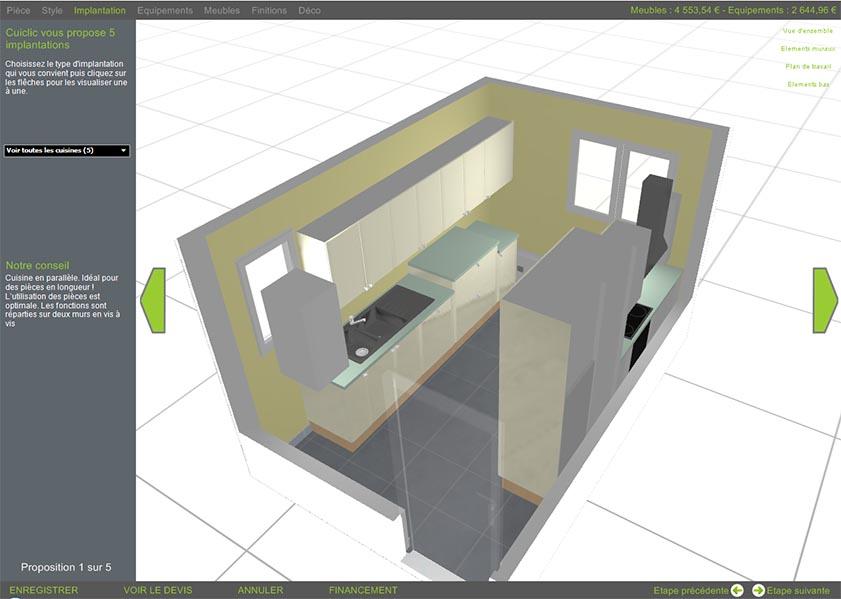 logiciel agencement cuisine 3d gratuit sofag. Black Bedroom Furniture Sets. Home Design Ideas
