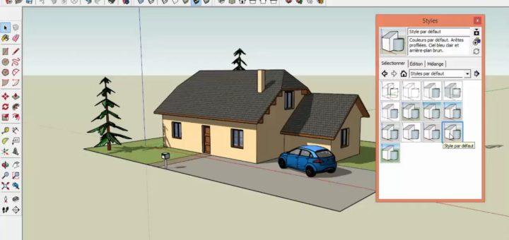 Logiciel Dessin Maison 3D Gratuit Francais - Sofag