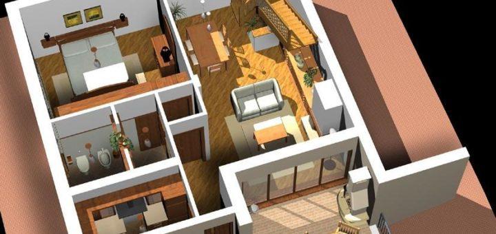 Architecture maison 3d sofag - Configurer sa cuisine ...