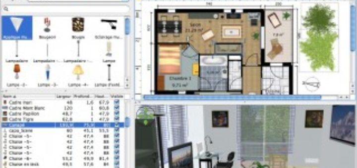 Logiciel agencement maison great telecharger un plan de for Logiciel d agencement
