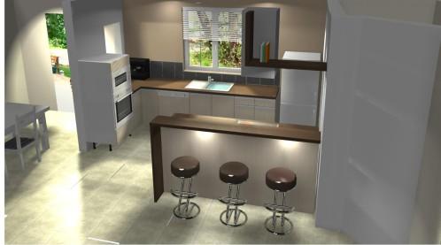 Plan 3d cuisine sofag for Plan cuisine 3d kozikaza