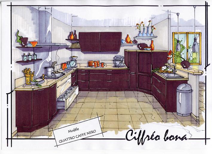 concepteur de cuisine sofag. Black Bedroom Furniture Sets. Home Design Ideas