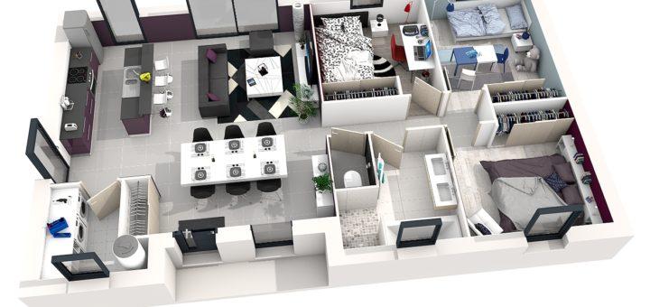 Plan maison 3d gratuit et facile sofag for Plan 3d gratuit facile