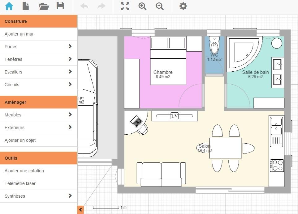 Logiciel dessin architecture gratuit sofag for Logiciel de dessin architecture