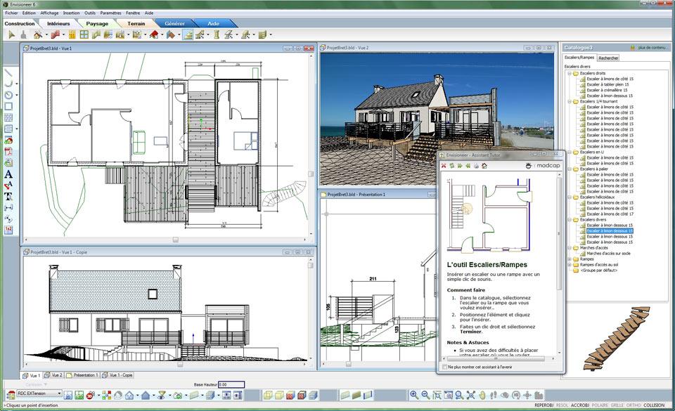 Logiciel 3d architecture sofag - Logiciel architecture gratuit en francais ...