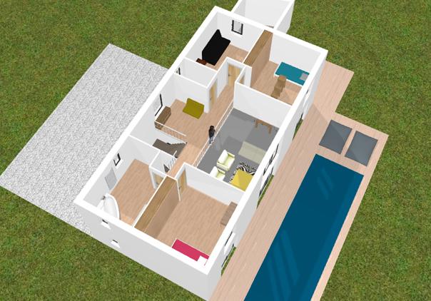 Logiciel plan de maison gratuit facile sofag for Logiciel 3d maison gratuit facile