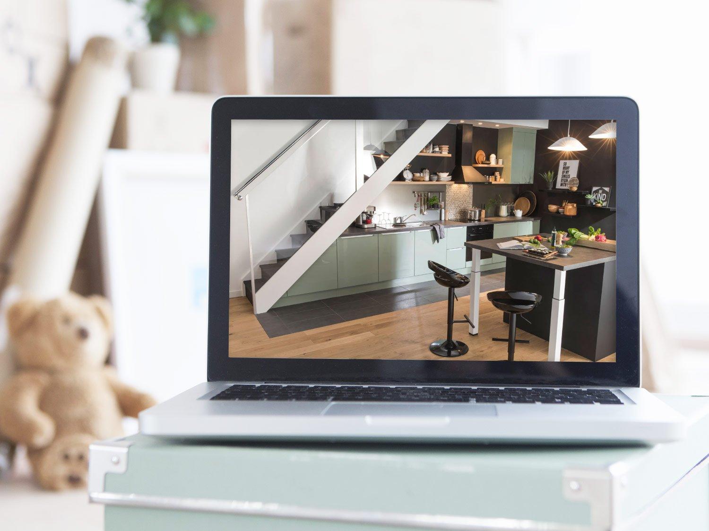 construire sa cuisine en 3d sofag. Black Bedroom Furniture Sets. Home Design Ideas