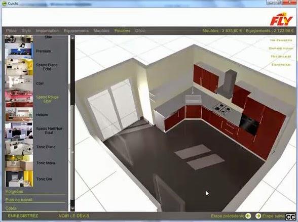 Logiciel gratuit conception cuisine sofag - Logiciel conception cuisine professionnel ...