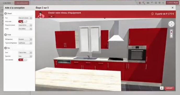 Dessiner une cuisine en 3d gratuit sofag for Dessiner une cuisine en 3d
