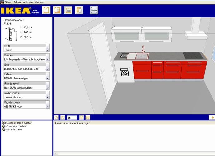 Logiciel pour cr er sa cuisine en 3d sofag for Application pour creer sa cuisine