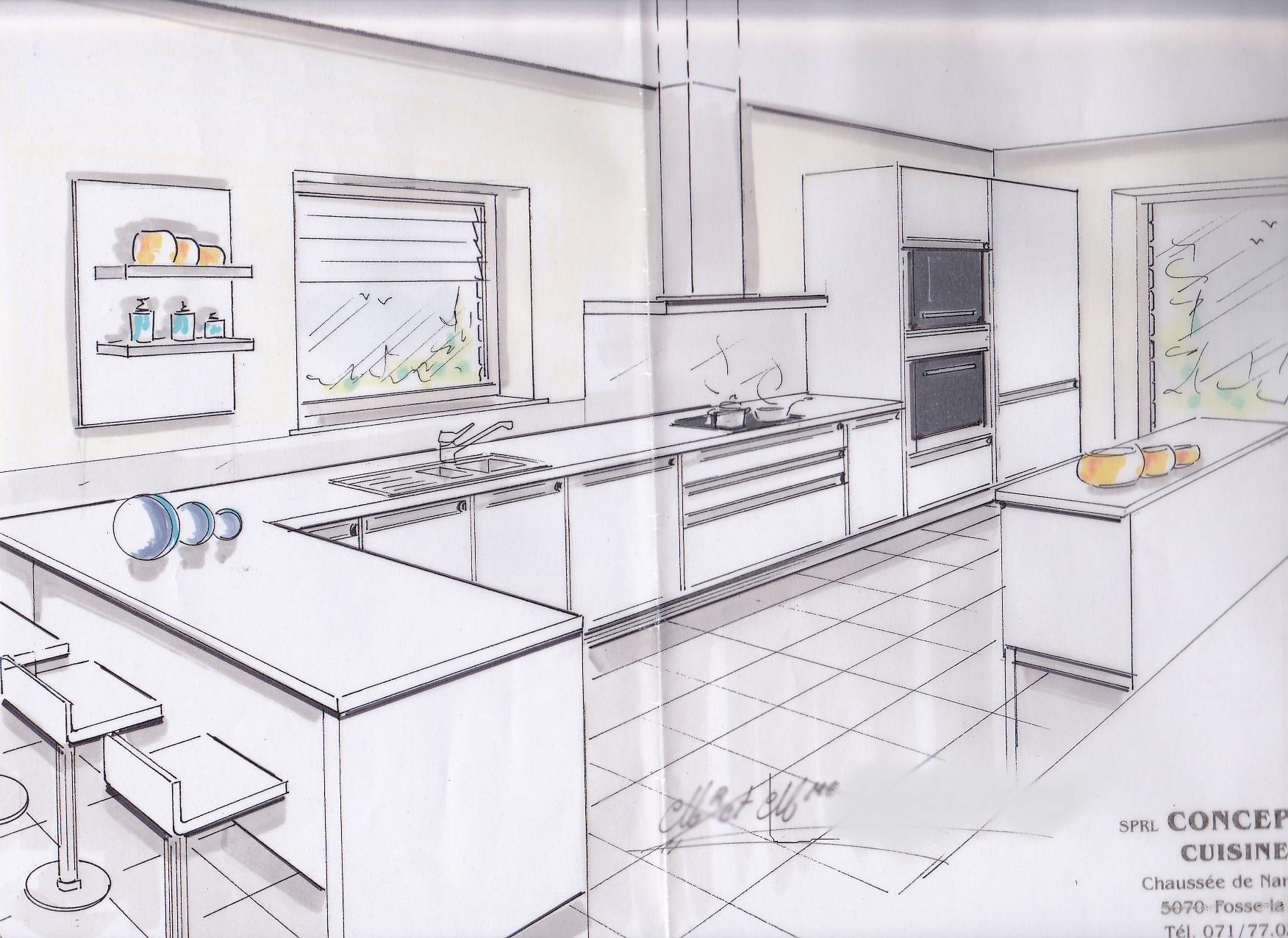 Célèbre Best Of Plan Pour Cuisine Gratuit Design   Iqdiplom.com UM42
