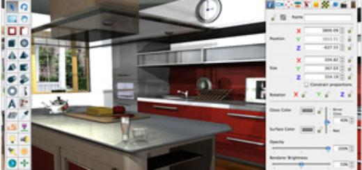 logiciel conception de cuisine design de maison. Black Bedroom Furniture Sets. Home Design Ideas