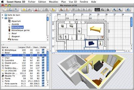 logiciel plan architecte gratuit - sofag - Logiciel De Cuisine En 3d Gratuit