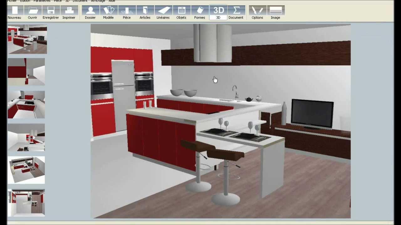 Logiciel gratuit 3d cuisine sofag for Logiciel gratuit pour amenager sa cuisine