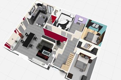 Dessin maison 3d gratuit sofag for Plan de cuisine gratuit en ligne