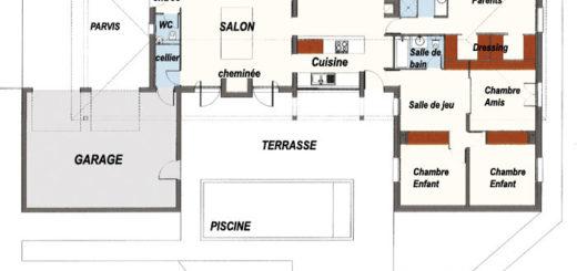 0 - Plan De Maison Moderne D Architecte Gratuit