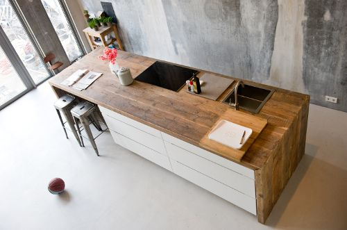 Plan De Travail Pour Table Cuisine - Sofag