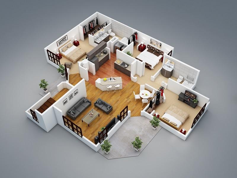 voici une slection pour sa cuisine sdb et maison en 3d pour vos photos - Creer Sa Maison En 3d Gratuit En Ligne