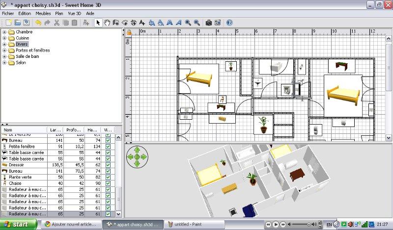 programme architecture gratuit. Black Bedroom Furniture Sets. Home Design Ideas