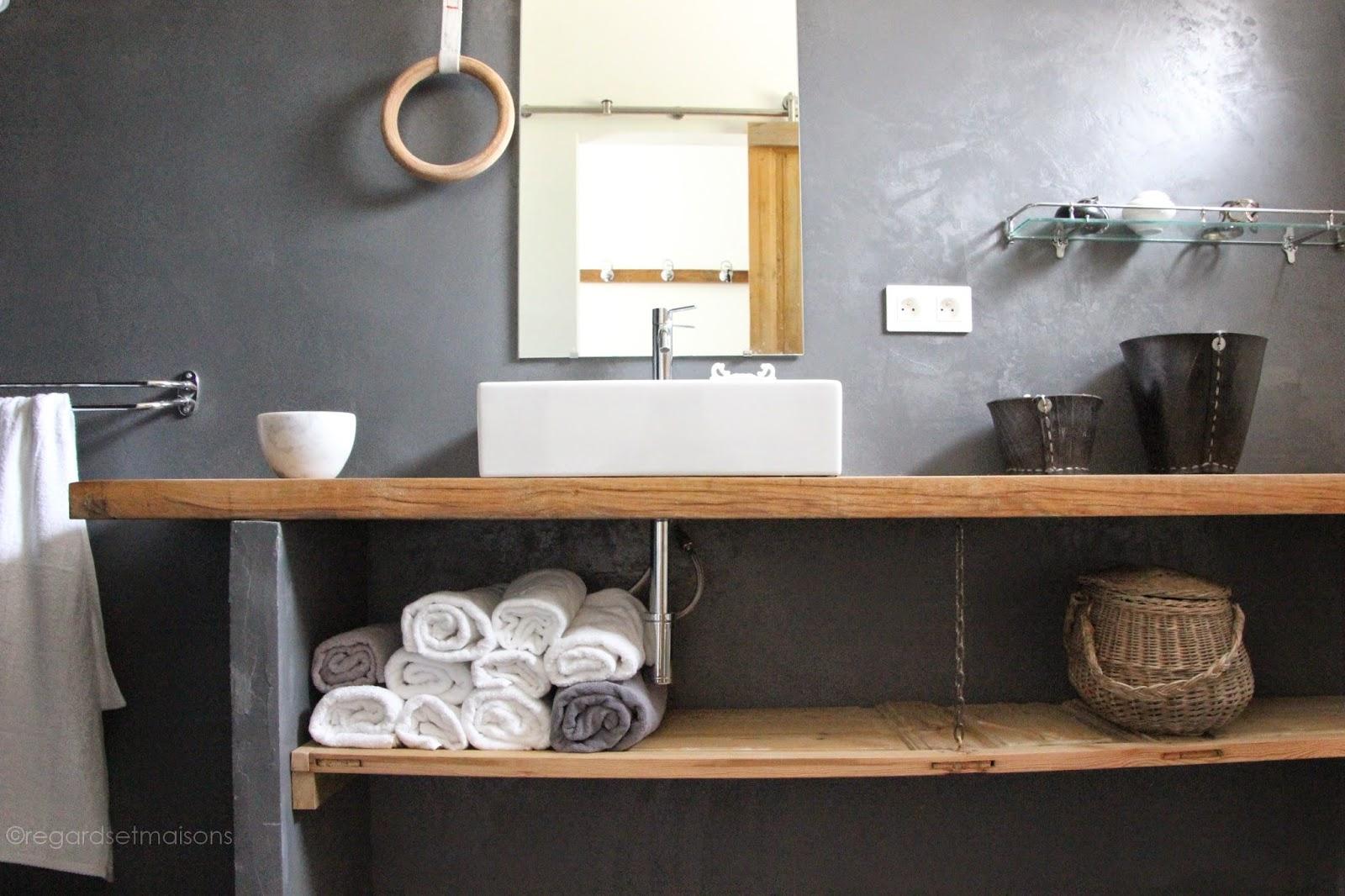 plan de travail de salle de bain sofag. Black Bedroom Furniture Sets. Home Design Ideas