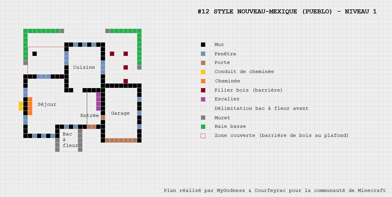 Berühmt Minecraft plan maison - sofag NY83