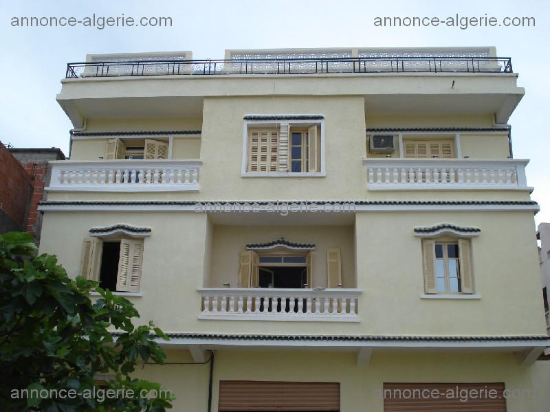 Plan de maison algerie sofag for Plan maison 200m2