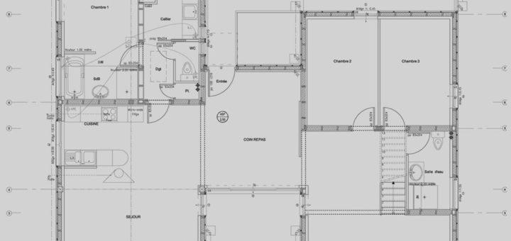 exemple plan maison contemporaine - Exemple Plan Maison Moderne