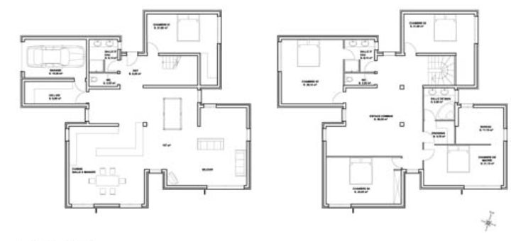 Exemple Plan Maison Moderne - Sofag