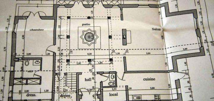plan maison marocaine sofag