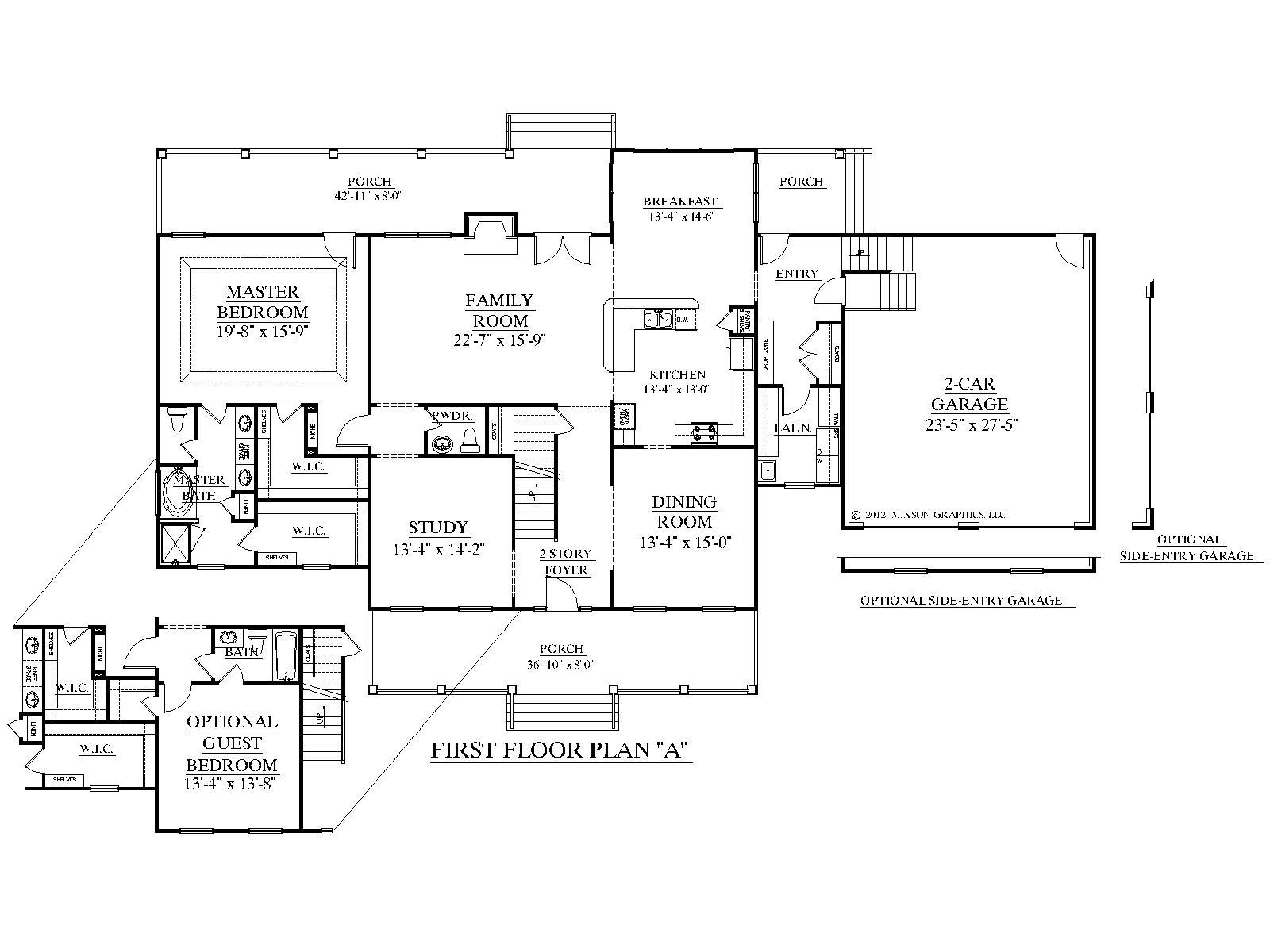 Plan de maison américaine - sofag