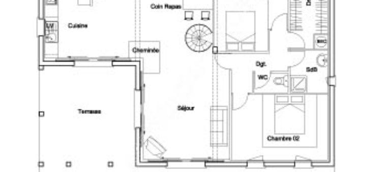 Plans De Maison Gratuit A Telecharger. Simple Plan Maison With Plans