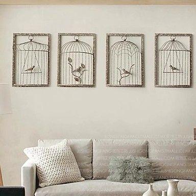 d coration murale en fer sofag. Black Bedroom Furniture Sets. Home Design Ideas