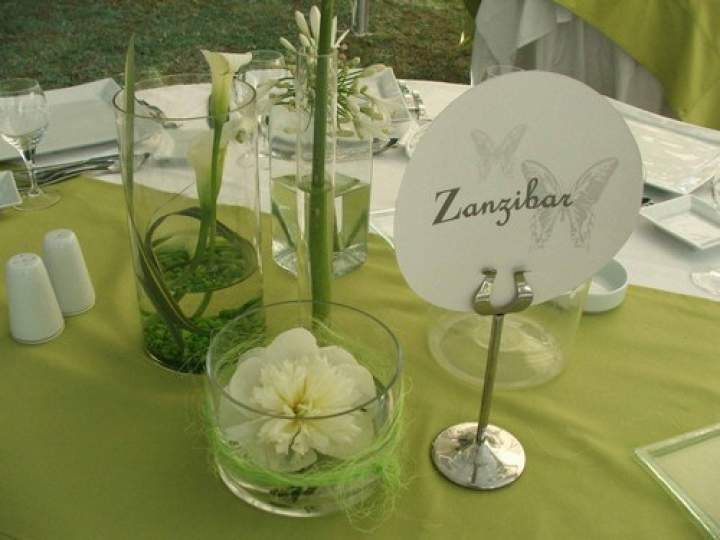 Decoration Table Mariage Theme Nature