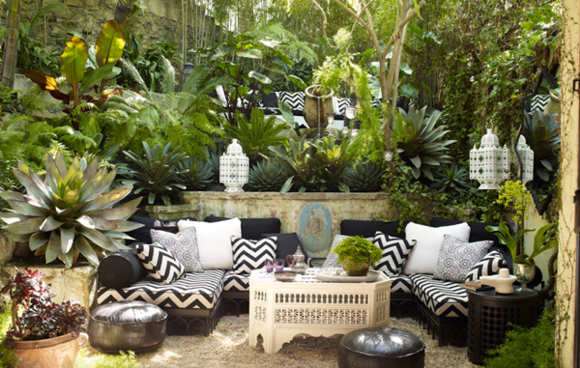 decoration terrasse exterieur photo sofag. Black Bedroom Furniture Sets. Home Design Ideas