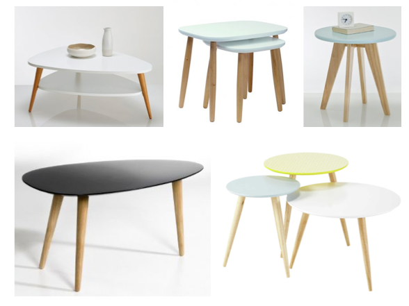 Table basse esprit nordique sofag table basse nordique