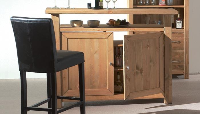 meuble bar scandinave sofag. Black Bedroom Furniture Sets. Home Design Ideas