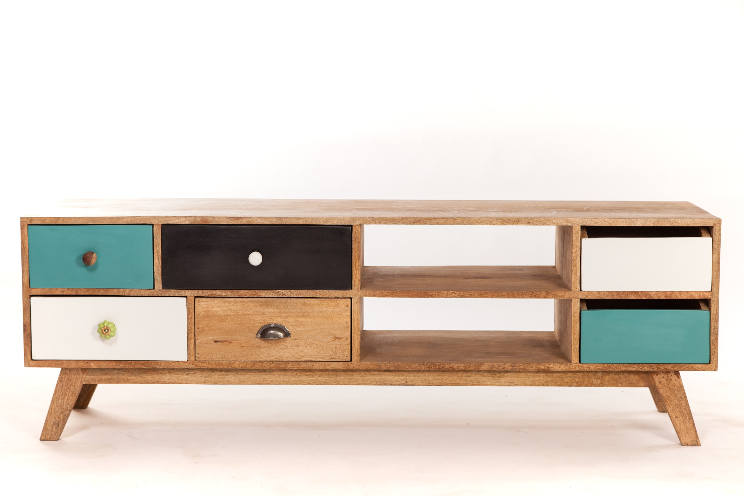 Meuble tele style scandinave sofag - Meuble style colonial pas cher ...