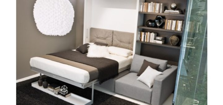 Armoire lit avec canapé - sofag