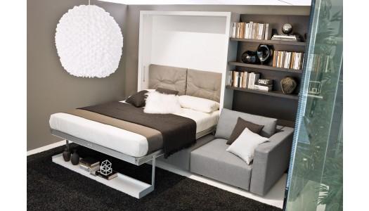 armoire lit avec canap sofag. Black Bedroom Furniture Sets. Home Design Ideas