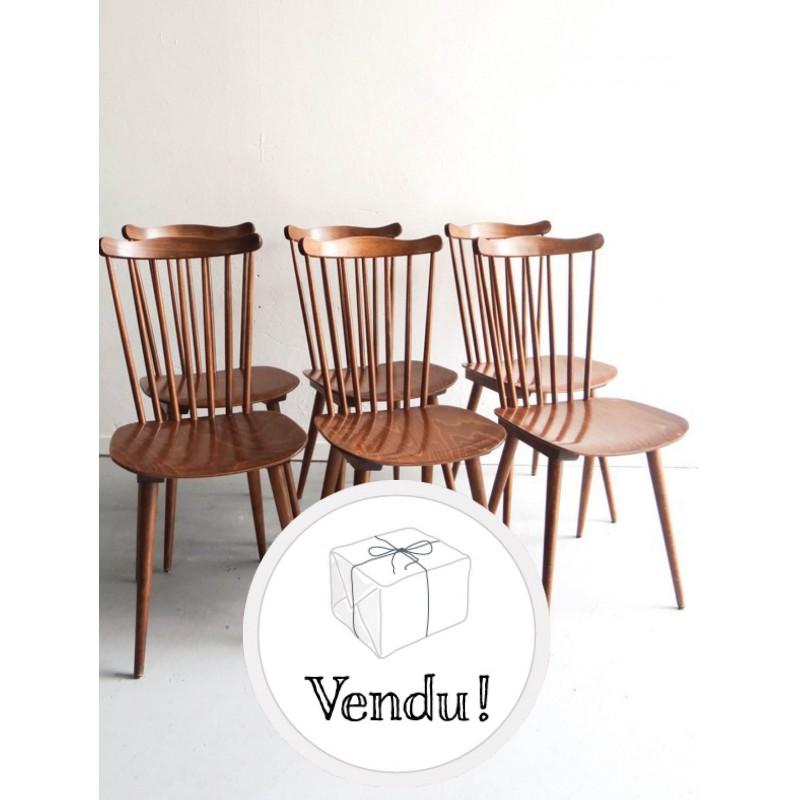 chaise scandinave vintage occasion sofag. Black Bedroom Furniture Sets. Home Design Ideas