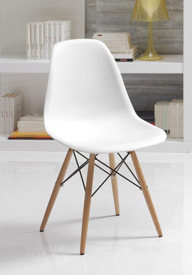 chaises scandinaves blanches sofag. Black Bedroom Furniture Sets. Home Design Ideas
