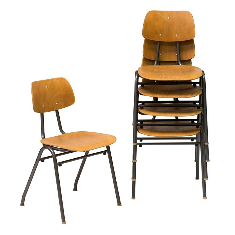 Chaise ecolier vintage sofag - Chaise d ecolier vintage ...