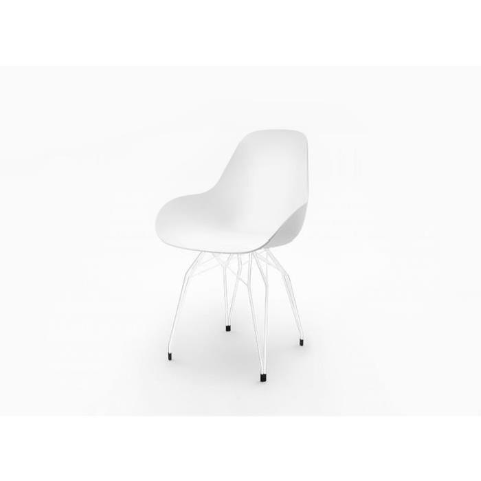 chaise scandinave pied metal sofag. Black Bedroom Furniture Sets. Home Design Ideas