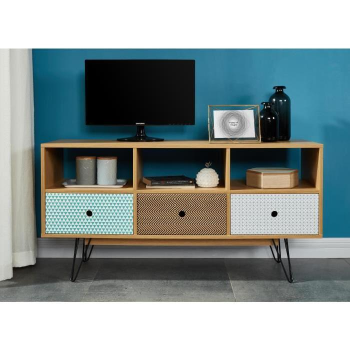Meuble tv scandinave solde sofag for Solde meuble tv