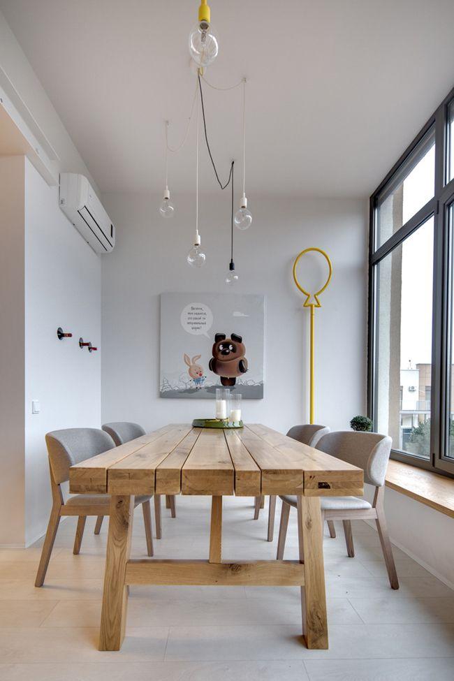 Table à manger style scandinave - sofag