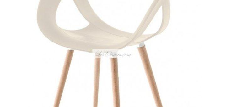 chaise design pied bois sofag. Black Bedroom Furniture Sets. Home Design Ideas