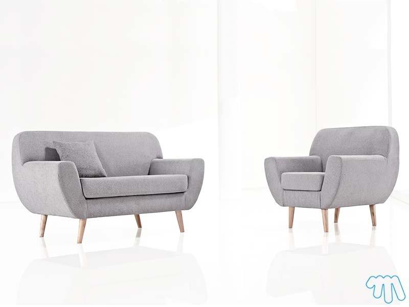 Canapé Et Fauteuil Scandinave Sofag - Canapé et fauteuil scandinave